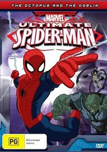 Ultimate Spider-Man - The Octopus And The Goblin (DVD, 2013)