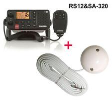 Simrad RS12 Funkgerät DSC ATIS + Evermore SA-320 GPS Empfänger RS-12 + SA320 NEU