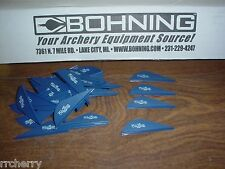 "Blue Bohning 2"" Blazer Vanes, 100 Pk. Navy Blue for Archery Bow Hunting Arrows"