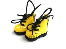 D02 Blythe Pullip Dal Momoko Lati Yellow Doll Shoes Boots
