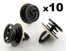 10x AUDI A4 PORTA INTERNA CARD & Trim Pannello di montaggio / fissaggio con clip