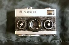 Rollei Vintage 35 compact film camera with 40mm Tessar lens Made in Germany rare