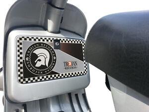 Tool Box Glove Box Sticker fits Vespa PX T5 LML Scooter - Trojan Records Decal