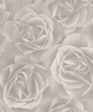 Rollos de papel pintado modernos Rasch color principal blanco
