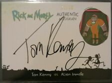 CRYPTOZOIC RICK AND MORTY Season 2 TOM KENNY AS Alien Inmate AUTO #'d 32/50