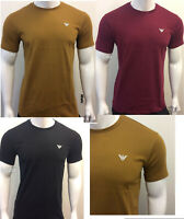 MEN'S ARMANI JEANS CREW NECK SHORT SLEEVE T-SHIRT PERFECT FOR SUMMER