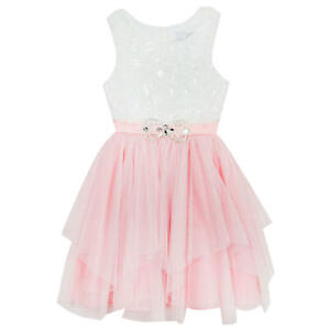 Emily Rose Special Occasion Dress for Girls - Sizes 12, 14 - Pink Ballerina