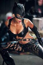 Halle Berry Catwoman Costume 8x10 Picture Celebrity Print