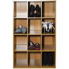 Pigeon Hole - Shoe Storage Display Media Shelves - Oak ST1213