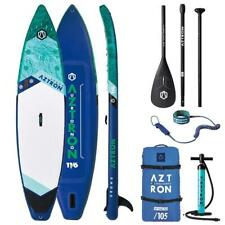 AZTRON URONO 11.6 Double Chamber SUP Stand up Paddle Board Style Alu Paddel Leas