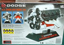 HAWK MOPAR DODGE PLYMOUTH HEMI ENGINE MODEL KIT 1/6 DIECAST SEALED