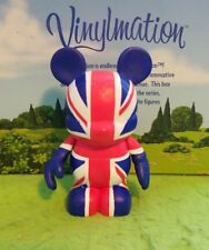 "DISNEY Vinylmation 3"" Park Set 1 Flag Series UK Great Britain"