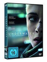 UNDERWATER -Kristen Stewart, Vincent Cassel, William Eubank NEW REGION 2 DVD PAL