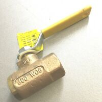 "APOLLO  1/2"" FNPT Bronze Ball Valve Inline"