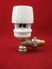 "Danfoss Thermostat Valve 1/2 "" Corner + Thermostatic Head Ra 2990 Radiator Valve"