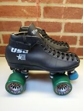 New listing Vintage Riedell Usa Turbo Gt Roller Skates Hyper Witch Doctor Wheels Mens Sz 6.5