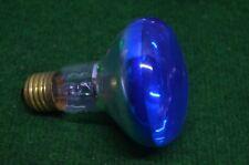 ANCIENNE AMPOULE LAMPE PHILIPS 220 V 60 W COULEUR BLEU DISCO PAR 38 RAMPE BAL