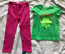 Gap Leggings 4T with T Shirt