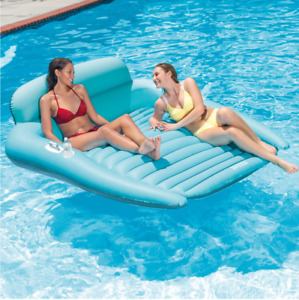 "Intex Lounge Double Lounge Pool Float 82"" x 72"""