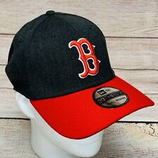 Boston Red Sox New Era 39Thirty Change Up Strech Fitted Hat Cap Small/Medium NWT