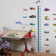 Disney Cars Height Chart Removable Wall Stickers Kids Boys Room Decor Art Decal