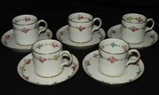 M} Tasses & Sous-tasses anciennes ROYAL CROWN DERBY ENGLAND Old English cups