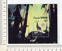 36715) Grenada Grenadines 1980 MNH Christmas - Bambi S/S