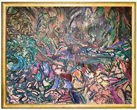NATURALEZA SALVAJE - RIVERO MARIA ANGELA   Painting Mixed Media on canvas