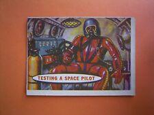 A&BC Gum 1958 Space Trade Card No 11 - TESTING  A  SPACE  PILOT