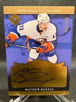 2016-17 Ultimate Collection Mathew Barzal Rookie AUTO /199 - New York Islanders