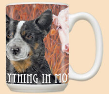 Australian Cattle Dog Ceramic Coffee Mug Tea Cup 15 oz