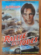 Auto Kult RALLYE DES TODES Joe Dallesandro Kinoplakat
