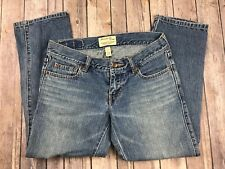 Women's Abercrombie & Fitch Cropped Denim Jeans, Size 2
