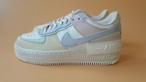 Nike Air Force 1 Shadow Pastel Summit White Ghost Trainers New Various Sizes