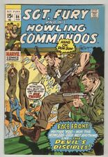 Sgt. Fury and His Howling Commandos #84 February 1971 VG/FN