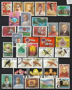 CEYLON 1986  1992  LOT OF 75 STAMPS on 2 pages    british colonie SRI LANKA