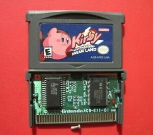 Kirby Nightmare in Dream Land Nintendo Game Boy Advance *Authentic & Saves*