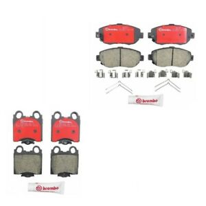 Front And Rear Disc Brake Pads for Lexus SC430 GS300 GS430 IS300 GS300 GS400