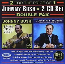 Johnny Bush - Double Pak [New CD]