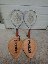 Set Of Vintage Ektelon Xl-100 Racquet ball Racquets.