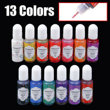 13 Colors 10G Epoxy UV Resin Coloring Dye Colorant Pigment DIY Craft Mix Color