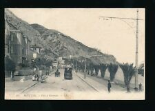 France MENTON vue a Garavan TNL Tram Used 1907? LL Louis Levy PPC