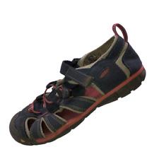 Keen Kids Size 2 Blue Pink Sport Waterproof Slip On Hiking Sandals Waterproof