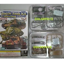 1/144 Battle Tank Jagdtiger JS-2 German Soviet Model F-Toys Secret V2# S2 + S3