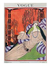 Vogue Paris Magazine, Reprint Sep 1922, V 4.14 Art Deco Fashion Drawings, 1920's