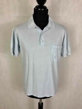 YSL YVES SAINT LAURENT PARIS Polo Maglietta Uomo Cotone Pole T-Shirt Sz.L - 50