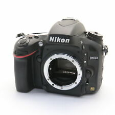 Nikon D600 24.3MP Digital SLR Camera Body -Near Mint- shutter count 6027 shots