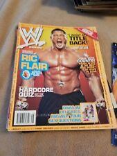 WWE August 2006 Wrestling Magazine Dave Batista Ric Flair tna wrestler Divas WWF