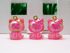 10 Hello Kitty Pendant Charm Figurine *10 pieces* (9e-10) Wholesale