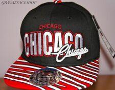 Gorras gorra de Chicago, plana pico Béisbol Hip Hop Urbano Calle Danza Sombreros